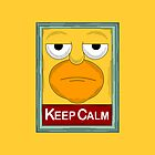 keep Calm simpson by newcris