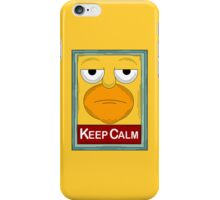 keep Calm simpson iPhone Case/Skin