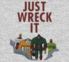 The Wrecking Crew - Just Wreck It One Piece - Short Sleeve