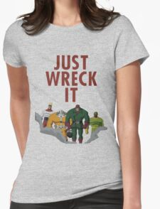 The Wrecking Crew - Just Wreck It Womens Fitted T-Shirt