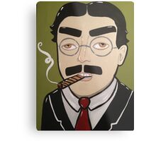 Groucho Metal Print