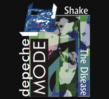 Depeche Mode Shake The Disease Shirt by Shaina Karasik