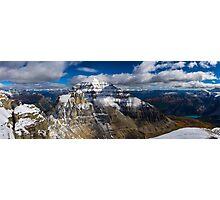 Mount Temple Photographic Print