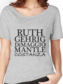 COSTANZA YANKEES Women's Relaxed Fit T-Shirt