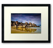 Whisky Bay Framed Print