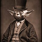 Portrait of Sir Yoda by KAMonkey
