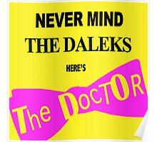 Never Mind the Daleks! Poster
