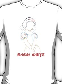 Snow White (Personalized, please Bubblemail/email me before ordering) T-Shirt