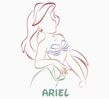 Ariel (Personalized, please Bubblemail/email me before ordering) Kids Clothes
