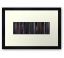Moviebarcode: Brazil (1985) Framed Print