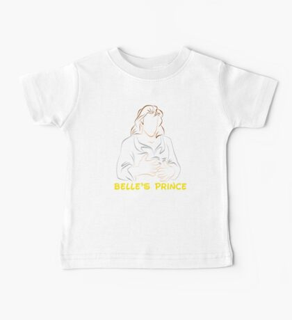 Belle's Prince (Personalized, please Bubblemail/email me before ordering) Baby Tee