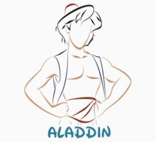 Aladdin (Personalized, please Bubblemail/email me before ordering) Kids Clothes