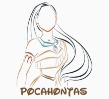 Pocahontas (Personalized, please Bubblemail/email me before ordering) by kferreryo