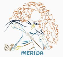 Merida (Personalized, please Bubblemail/email me before ordering) by kferreryo