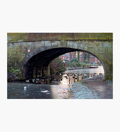 Myerscough Hall Bridge-no 45  Photographic Print