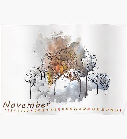 November) Poster