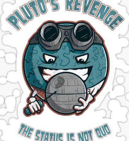 Pluto's Revenge Sticker