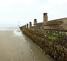 West Wittering Beach, England by Ludwig Wagner