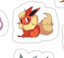 Mini Eeveelution Sticker Set. Sticker