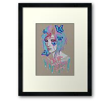 i cant sleep Framed Print