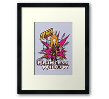 Avenger Time - Princess Widow Framed Print