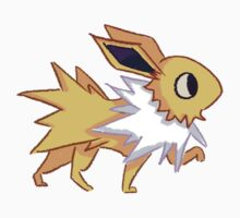Eeveelution - Jolteon Sticker.  by Shermstan