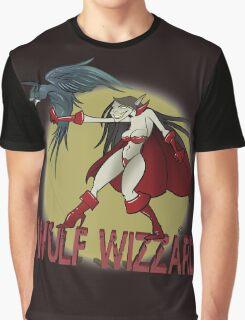Wulf Wizzard Wizzardress Graphic T-Shirt