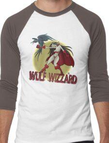 Wulf Wizzard Wizzardress Men's Baseball ¾ T-Shirt
