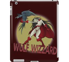 Wulf Wizzard Wizzardress iPad Case/Skin
