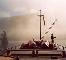 Loch Oich Mist ~ Caledonian Canal, Scotland by artwhiz47