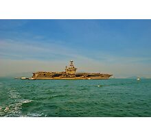 US Aircraft Carrier Photographic Print