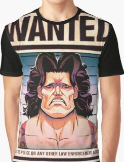 Wanted Graphic T-Shirt