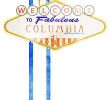 Welcome to Columbia 2 - Print by Adam Angold