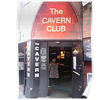 The Cavern Club Liverpool. Poster