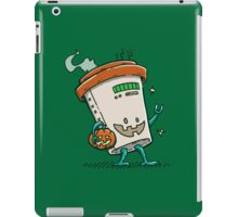 Pumpkin Spice Latte Bot iPad Case/Skin