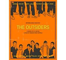 The Outsiders Orange Photographic Print