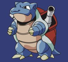 Pokemon - Blastoise by StraightEK