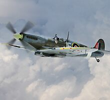 Johnnie Johnson Spitfire Mk IX by James Biggadike