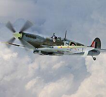 Johnnie Johnson Spitfire Mk IX by J Biggadike
