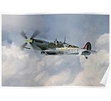 Johnnie Johnson Spitfire Mk IX Poster