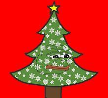 Sad Christmas Pepe by skilliamchan