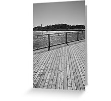 On the Pier - Southwold,Suffolk,UK  Greeting Card