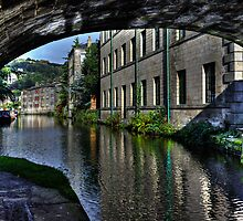 Through The Bridge at Hebden by inkedsandra