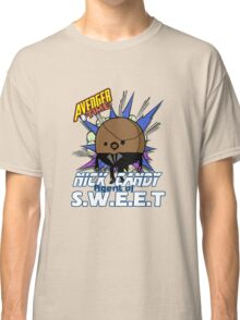 Avenger Time - Nick Candy Agent of S.W.E.E.T Classic T-Shirt