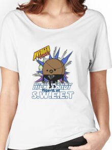 Avenger Time - Nick Candy Agent of S.W.E.E.T Women's Relaxed Fit T-Shirt