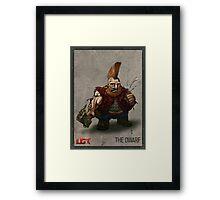 The Dwarf_Present Framed Print
