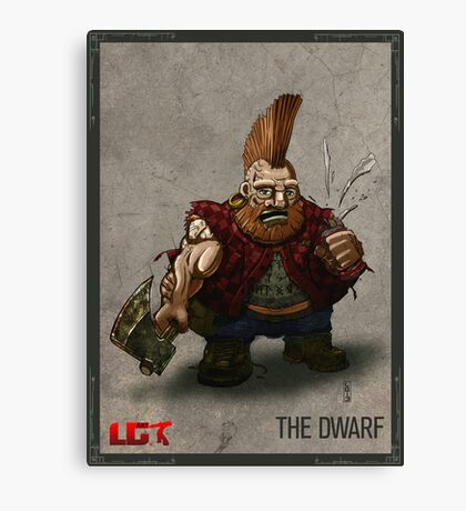 The Dwarf_Present Canvas Print