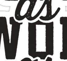 ASAP As Swole As Possible Sticker