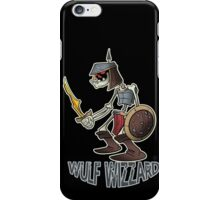 Wulf Wizzard Dark Skeleton Knight iPhone Case/Skin