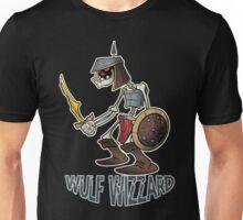 Wulf Wizzard Dark Skeleton Knight Unisex T-Shirt